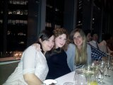 Conference Dinner - with three interns from Italy - Silvia, Elisa and Alessandra