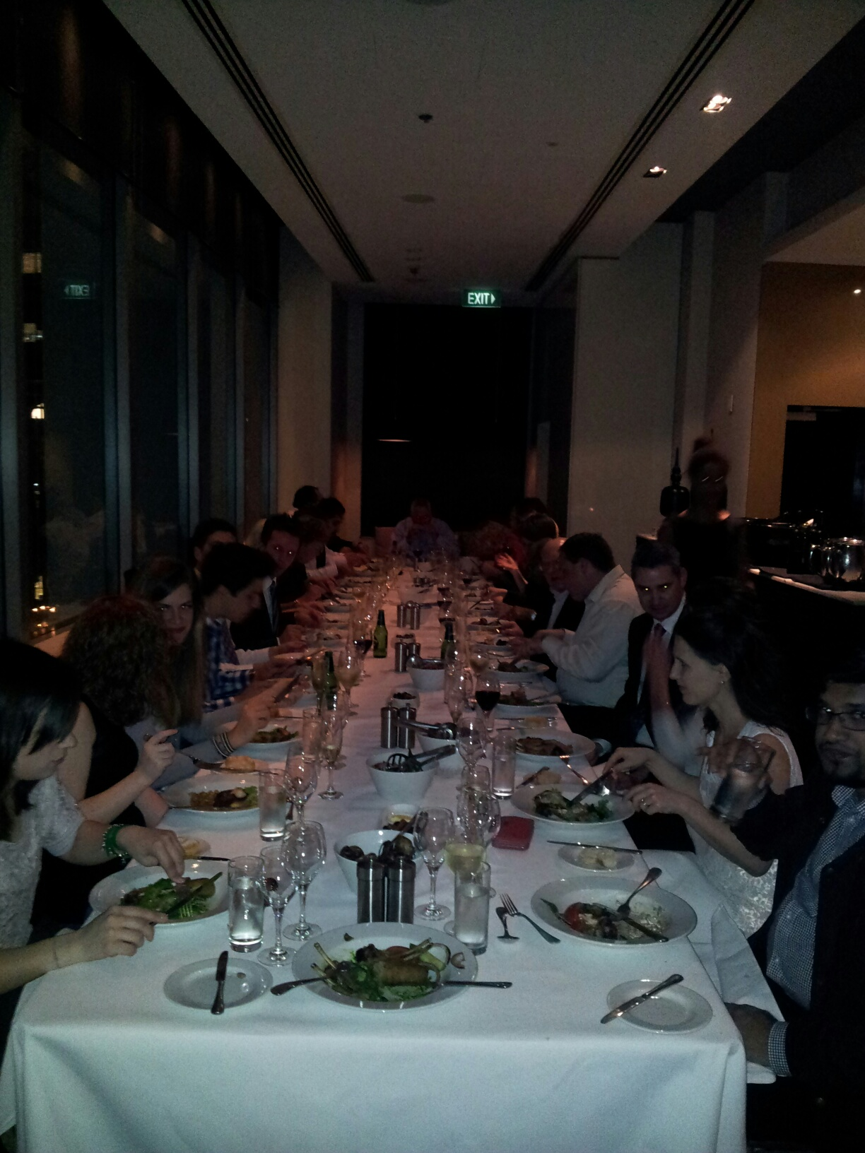 Conference Dinner at Establishment